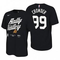 Phoenix Sonnen Mantra 2021 NBA Playoffs Schwarz Jae Crowder & 99 T-Shirt