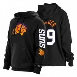 Phoenix Suns Jae Crowder City Edition Neue Ära Hoodie Schwarz