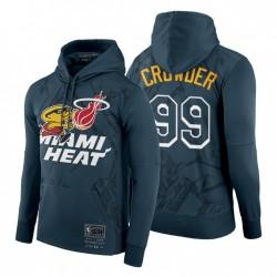 Miami Heat Jae Crowder Hoodie BR REMIX HWC Limited Edition grau-grün