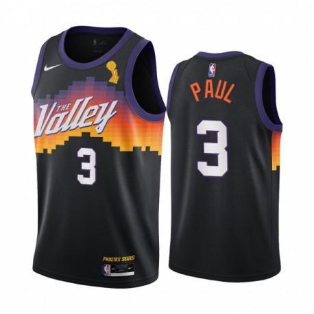 Chris Paul Phoenix Suns Meister Schwarz City Edition Trikot 2020 Handel