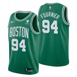 Icon Edition & 94 Evan Fournier Swingman Green Boston Celtics Trikot