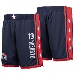 USA Team & 13 BAM Adebayo Navy Hardwood Classics Dream Team III Authentische Shorts