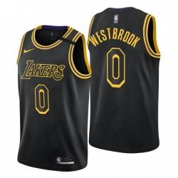 Los Angeles Lakers Russell Westbrook Trikot Mamba 0 Schwarz