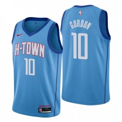2021-22 Houston Rockets Swingman Trikot Eric Gordon Nr. 10 Stadt Edition Blau