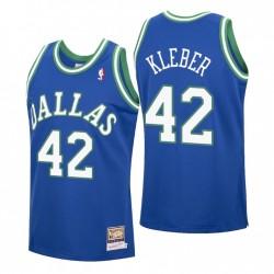 Maxi Kleber Nr. 42 Dallas Mavericks Mitchell & Ness Blue Hardwood Classics Trikot