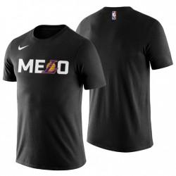Los Angeles Lakers Team Logo Carmelo Anthony Nein. 7 Schwarz T-Shirt