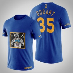 Golden State Warriors Kevin Durant # 35 Marine Legend Transformation T-Shirt