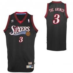 Philadelphia 76er & 3 Allen Iverson Spitzname Trikot