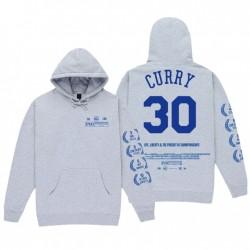 Überprüfen Sie die Credits Philadelphia 76ers Seth Curry Hoodie Grey