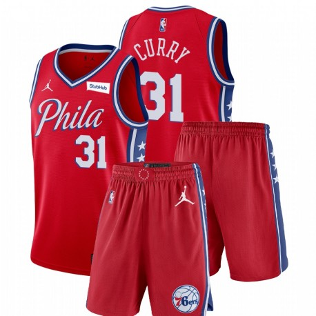 Philadelphia 76ers Nike Statement Edition Seth Curry & 31 ROFT Fitness-Outfits