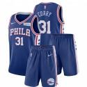 Nike Philadelphia 76ers Seth Curry # 31 Royal Icon Edition Gym Outfits