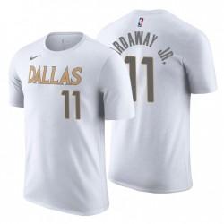 Dallas Mavericks City T-Shirt Tim Hardaway Jr. 11 Weiß 2020-21