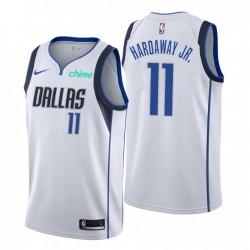 Dallas Mavericks & 11 Tim Hardaway Jr. Swingman Weiß Trikot Association Edition 2021