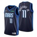 Dallas Mavericks verdiente Edition Navy Nein. 11 Tim Hardaway Jr. Trikot Swingman