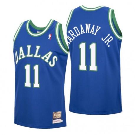 Tim Hardaway Jr. Nr. 11 Dallas Mavericks Mitchell & Ness Blue Hardwood Classics Trikot