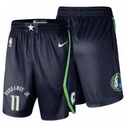 Dallas Mavericks Nr. 11 Tim Hardaway Jr. Swingman Icon Navy Shorts