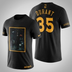 Golden State Warriors Kevin Durant # 35 Black Legend Tod T-Shirt