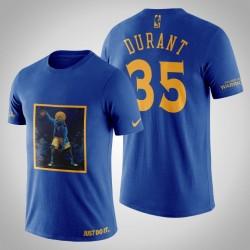 Golden State Warriors Kevin Durant # 35 Navy Legend Mitternachts T-Shirt