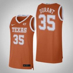 Männer Kevin Durant NCAA Texas Longhorns & 35 Texas orange Alumni Limited College Basketball Nike Jersey