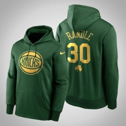 Julius Randle Knicks & 30 Grüne St. Patrick Day Golden Begrenzte PulloverHoodie