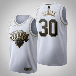 New York Knicks Julius Randle & 30 Golden Edition Weiß Jersey